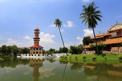 Bang Pa-In Palace in Thailand. Stock Photo