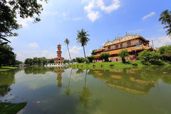 Bang Pa-In Palace in Thailand. Royalty Free Stock Image