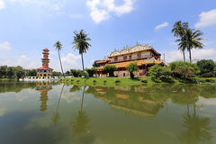 Bang Pa-In Palace in Thailand. Royalty Free Stock Photo