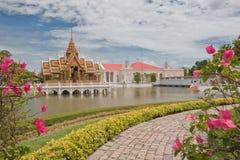 Bang Pa-In Pavilion. Bang Pa-In Aisawan Thipya-Art (Divine Seat of Personal Freedom) at the Royal Summer Palace at Ayuthaya, Thailand Stock Images