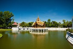 Bang PA-IN royal palace Royalty Free Stock Image