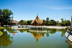 Bang PA-IN royal palace Stock Photo