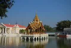 Bang Pa-In Royal Palace (Ayuthaya). Royalty Free Stock Photo