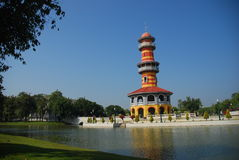 Bang Pa-In Royal Palace (Ayuthaya). stock photography