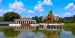Bang Pa-In Royal Palace Royalty Free Stock Photos
