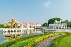 Bang Pa-In Royal Palace, Ayutthaya, Thailand Royalty Free Stock Image
