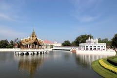 Bang Pa In Royal Palace, Ayutthaya, Thailand. View of lake at Bang Pa In Royal Palace at Ayutthaya, Thailand royalty free stock photo