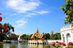 Bang Pa-In Royal Palace known as the Summer Palace. Royalty Free Stock Images