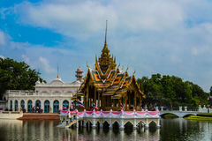 Bang pa-in royal palace Royalty Free Stock Photo