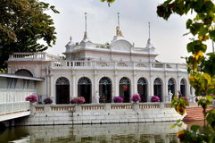 Bang Pa-In: Royal Palace Reception Hall Royalty Free Stock Images