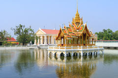 Bang Pa-In Royal Palace, the Summer Palace of formerly Thai kings as a summer dwelling.  Bang Pa-In district, Ayutthaya Province Stock Photo