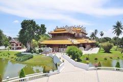 Bang Pa-In Royal Palace Royalty Free Stock Photography