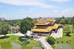 Bang Pa-In Royal Palace Royalty Free Stock Photography