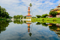 Bang Pa-In Royal Palace in Thailand Royalty Free Stock Photo