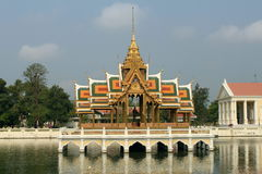 Bang Pa-in, Thailand. Bang Pa-in Palace in Thailand royalty free stock photo