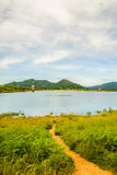 Bang Phra reservoir, chon buri, Thailand. Tourist attractions. In Thailand Stock Photography