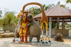 Khao Kheow open zoo. stock photos