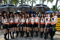 Bang Saen Speed Festival 2010 Royalty Free Stock Photos