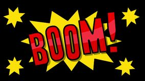 Bang! Smäll! Krasch! vektor illustrationer