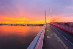 Bang Tabun Bridge Stock Images