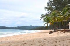 Bang Tao Beach at Phuket Thailand Stock Photos