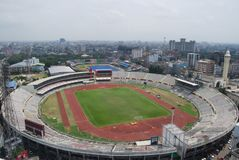 Bangabandhu全国体育场在达卡 有害的 库存图片