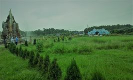 Bangabandhu Mujib Safari Park, Gazipur,孟加拉国回教族长 库存图片