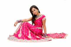 bangali美丽的新娘 免版税库存照片