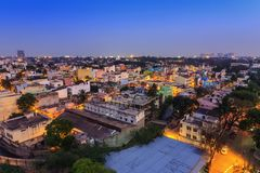 Bangalore City skyline - India Stock Image
