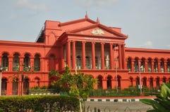 Bangalore Court. Karnataka High Court is the High Court of the Indian state of Karnataka. It is located in Bangalore, the capital city of Karnataka. The High Stock Image