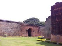 Bangalore fort, Karnataka, Indien Arkivbild