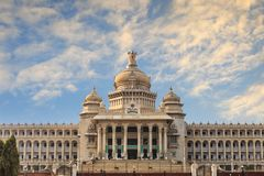 Bangalore India. Vidhana Soudha the state legislature building in Bangalore, India Royalty Free Stock Image
