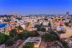 Bangalore City skyline - India Royalty Free Stock Photo