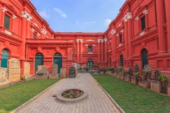 Bangalore India. Karnataka Government Museum at Bangalore India Stock Photo