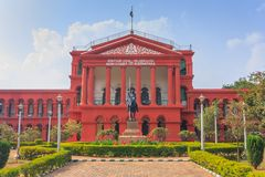 Bangalore, India. Karnataka High Court, Bangalore, India stock images