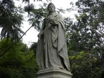 Free Bangalore, Karnataka, India - Sep 5, 2009 White Stone Statue Of Queen Victoria At Cubbon Park Royalty Free Stock Photography - 119359217