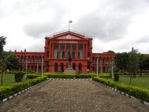 Bangalore, Karnataka India, Wrzesień, - 5, 2009 Attara Kacheri, Karnataka sąd najwyższy fotografia stock