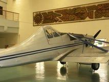 Bangalore Karnataka, Indien - Januari 1, 2009 Basant flygplan på HAL Aerospace Museum royaltyfri fotografi