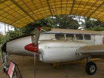 Bangalore Karnataka, Indien - Januari 1, 2009 Devon flygplan som används som passagerarflygplan Arkivbild