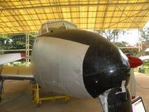 Bangalore Karnataka, Indien - Januari 1, 2009 duvaflygplan på HAL Aerospace Museum royaltyfria bilder