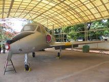 Bangalore Karnataka, Indien - Januari 1, 2009 Kiran flygplan som planläggs och framkallas av HAL arkivbild