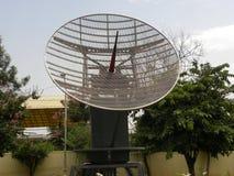 Bangalore Karnataka, Indien - Januari 1, 2009 meteorologisk radar på HAL Aerospace Museum Royaltyfria Foton