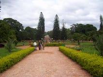 Bangalore, Karnataka, la India - 11 de agosto de 2008 parque en el jardín botánico de Lalbagh imágenes de archivo libres de regalías