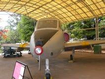 Bangalore, Karnataka, la India - 1 de enero de 2009 avión de Kiran en HAL Aerospace Museum fotos de archivo
