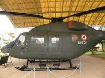 Bangalore, Karnataka, la India - 1 de enero de 2009 helicóptero ligero avanzado con el sistema de mandos de vuelo automático AFCS imagen de archivo libre de regalías