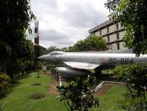 Bangalore, Karnataka, la India - 5 de septiembre de 2009 avión de combate supersónico HF-24 imagen de archivo libre de regalías
