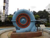 Bangalore, Karnataka, la India - 5 de septiembre de 2009 turbina de reacción con flujo radial interno con la cubierta espiral fotografía de archivo libre de regalías