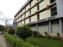 Bangalore, Karnataka, la India - edificio industrial y tecnológico 5 de septiembre de 2009 de Visvesvaraya del museo fotografía de archivo