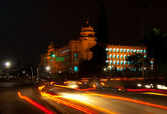 Bangalore at night Royalty Free Stock Image