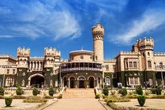 Bangalore palace. Garden and Bangalore king palace, Karnataka, India Royalty Free Stock Photography